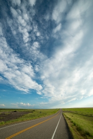Big Sky country in SE Montana. © Terry Ownby
