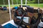 Tool Bag at Archeology Dig Site