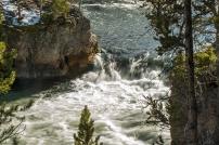 Upper Falls, Yellowstone River.
