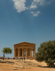 Temple of Concordia, Agrigento, SI, Italy.