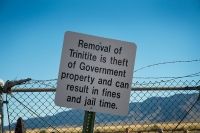 Jail Time at Trinity Site, NM.