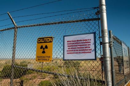 Radioactive Materials at Trinity Site.