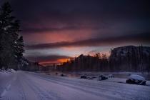 Sunrise on the Madison River, YNP, Wyoming.